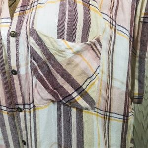 Maurices Tops - Maurice's   Plaid Button Down Muscle Tee   #34